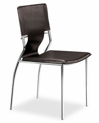 Dining Chair - Trafico Side Chair (Set of 4) - Zuo Modern - 404133