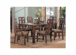 Dining Room Furniture Set 2 in Warm Walnut Finish - 929-DINING-SET-2