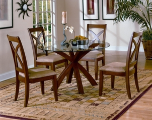 Dining Room Furniture Set with Round Dining Table - 5316-DINING-SET-2