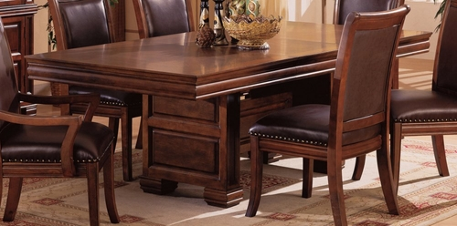 Dining Table in Cherry - Coaster - COAST-136351