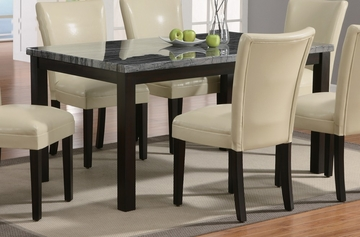 Dining Table in Deep Cappuccino - Coaster - 102261