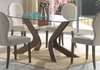 Dining Table in Medium Walnut - Coaster - 120361
