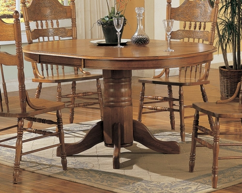 Dining Table in Oak - Coaster - COAST-15264N1
