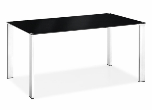 Dining Table - Slim Table in Black - Zuo Modern - 102125