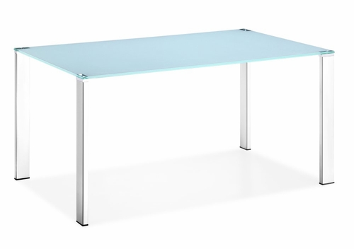 Dining Table - Slim Table in White - Zuo Modern - 102126