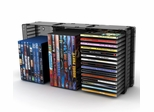 Disc Storage Module 45 CD/21 DVD in Black - Atlantic - 36635731
