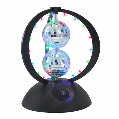 Disco Planet Light with 2 Disco Balls - Lumisource