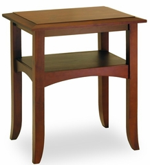Discount Walnut End Table - Winsome Trading - 94723