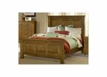 Distressed Chestnut Outback Panel Bed Set - Hillsdale