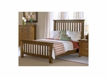 Distressed Chestnut Outback Slat Bed Set - Hillsdale