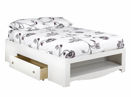 Dixie Full Size Bed with Storage - Nexera Furniture - 315403