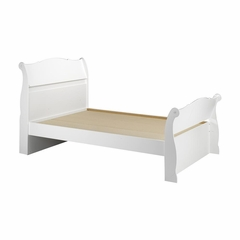 Dixie Full Size Sleigh Bed - Nexera Furniture