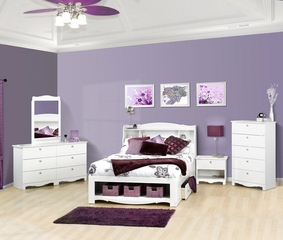 Dixie Kids Bedroom Furniture Set 4 - Nexera Furniture - 400158
