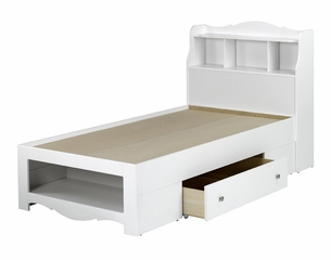 Dixie Twin Size Bed with Headboard - Nexera Furniture - 400144