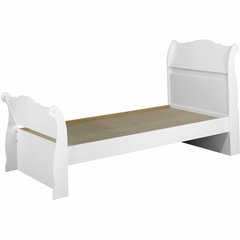 Dixie Twin Size Sleigh Bed - Nexera Furniture
