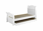 Dixie Twin Size Sleigh Bed with Trundle - Nexera Furniture
