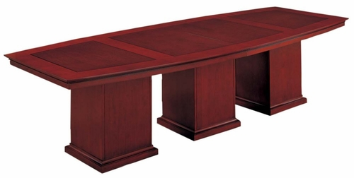 DMI Office 120 Inch Boat Top Conference Table - Executive Office Furniture / Home Office Furniture - 7302-120