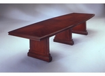 DMI Office 144 Inch Boat Top Conference Table - Traditional Office Furniture - 7990-97