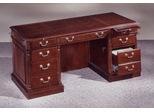 DMI Office 66 Inch Executive Desk - Traditional Office Furniture - 7990-30