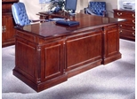 DMI Office 66 Inch Executive L-Shaped Desk with Left Return - Traditional Office Furniture - 7990-49