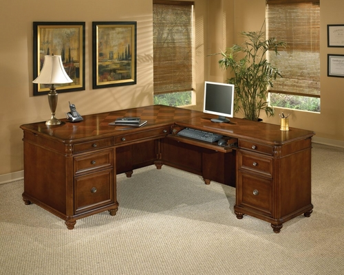 DMI Office 72 Inch L-Shaped Computer Desk with Right Return - 7480-55