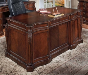 DMI Office 72 Inch Shaped Executive Desk - 7688-36