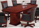 DMI Office 96 Inch Boat Top Conference Table - 7302-96