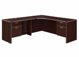 "DMI Office Corner L Shape with 42"" Left Return - 7004-51Q"
