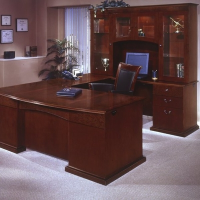 DMI Office Del Mar Executive Office Furniture / Home Office Furniture Package 1