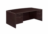 DMI Office Executive Bow Front Desk - 7004-37Q
