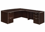 "DMI Office Executive CompuBow L Shape with 42"" Right Return - 7004-47CB"