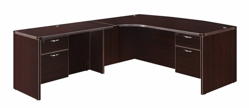 DMI Office Executive CompuBow L Shape with 48