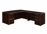 "DMI Office Executive CompuBow L Shape with 48"" Right Return - 7004-47ECB"