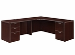 "DMI Office Executive Corner L Shape with 48"" Left Return - 7004-51E"