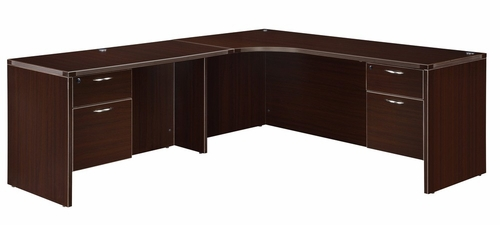 DMI Office Executive Corner L Shape with 48