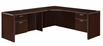 "DMI Office Executive Corner L Shape with 48"" Left Return - 7004-51EQ"