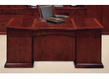 DMI Office Executive Desk with Bow Front - Executive Office Furniture / Home Office Furniture - 7302-37