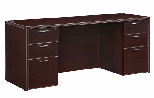 DMI Office Executive Kneehole Credenza - 7004-21