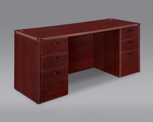 DMI Office Executive Kneehole Credenza - 7006-21