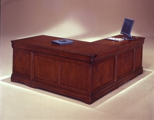 DMI Office Executive L-Shaped Desk with Left Return - 7684-56