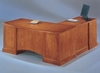 DMI Office Executive L-Shaped Desk with Left Return - Transitional Office Furniture - 7130-58