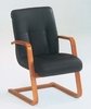 DMI Office Executive Leather Guest Chair - Transitional Office Furniture - 7130-82