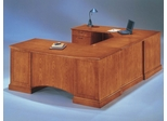 DMI Office Executive Left Corner U-Shaped Desk - Transitional Office Furniture - 7130-79