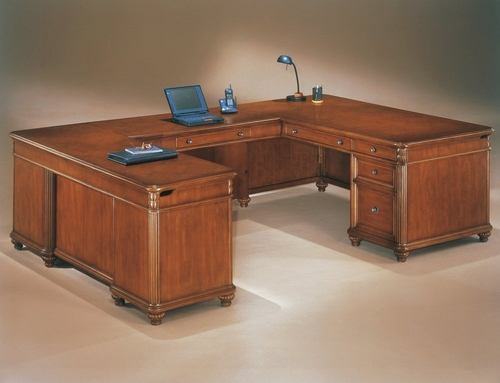 DMI Office Executive Left U-Shaped Desk - 7480-58