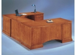 DMI Office Executive Right Corner U-Shaped Desk - Transitional Office Furniture - 7130-78