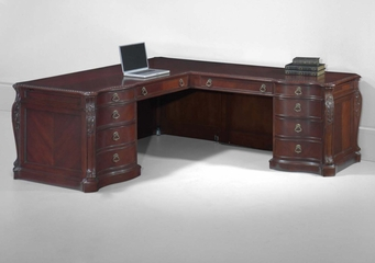 DMI Office Executive Right L-Shaped Desk - 7688-55