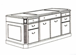 DMI Office Executive Storage Credenza 7376-20