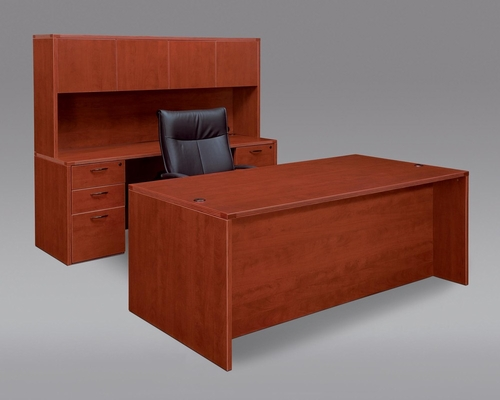 DMI Office Fairplex Cherry Executive Office Package 1 - 7005-37-21-427