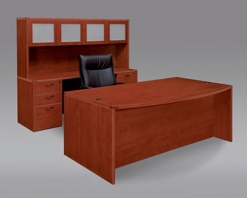 DMI Office Fairplex Cherry Executive Office Package 2 - 7005-37-21-428