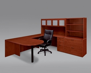 DMI Office Fairplex Cherry Executive Office Package 8 - 7005-707G
